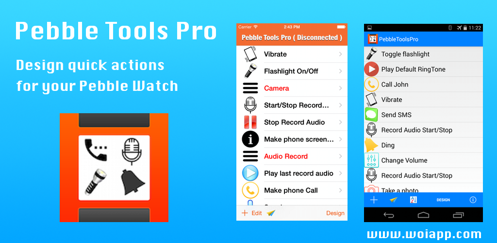 Pebble Tools Pro for Android